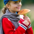Mushrooms picking, season for mushrooms. — Stock Photo