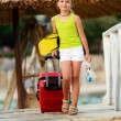 Travel, summer holidays - direction summer resort — Stock Photo #26261081