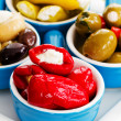 Stock Photo: Mediterranecuisine - antipasti, appetizer