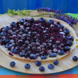 Stock Photo: Blueberry tarte