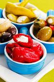 Mediterranean cuisine - antipasti, appetizer — Stock Photo