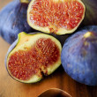 Stock Photo: Ripe fig fruits