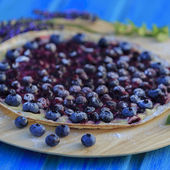 Blueberry tarte — Stock Photo