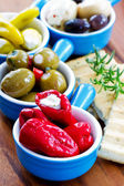 Antipasti, appetizer - Mediterranean cuisine — Stock Photo