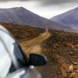 Winding road , Fuerteventura, in the Canary Islands, Spain. — Stock Photo #46687163