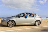 Travel, family on summer vacation — Stock Photo