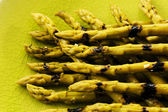 Asparagus - delicacies, gourmet meal - grilled asparagus — Stock Photo