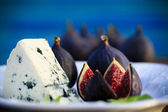 Plate of Italian delicacies — Stock Photo