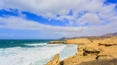 Pared Beach in Fuerteventura, Canary Islands, Spain — Stock Photo