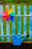 Gardening - garden ready for planting — Stock Photo