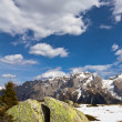 Springtime in Dolomites mountain, Italian Alps (unesco natural world heritage in Italy) — Stock Photo #47850911