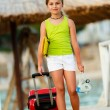 Travel, summer holidays - direction summer resort — Stock Photo