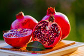 Pomegranate fruits — Stock Photo