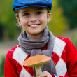 Mushrooms picking, season for mushroom — Stock Photo #48199627