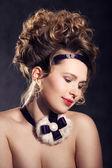 Garota jovem e atraente — Fotografia Stock