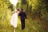 Romantik çift — Stok fotoğraf