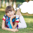 Funny girl — Stockfoto