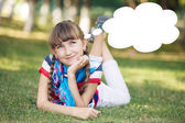 Funny girl — Stock Photo