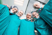 Surgeon team — Stockfoto