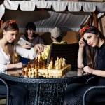 el ajedrez — Foto de Stock