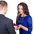 Stock Photo: Propose