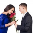 Romantic dating — Stock Photo