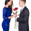 Foto de Stock  : Romantic dating