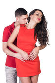 Lovely passion couple — Stock Photo