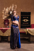 Belly dancer — Foto Stock