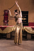 Belly dancer — Stock fotografie