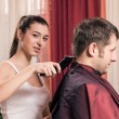 Stock Photo: Barbershop