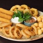 Snack platter — Stock Photo #42809375