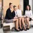 Four businesswomen — Stock Photo #46328793