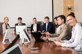 Businesspeople At The Meeting — Stock Photo