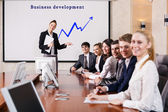 Business consultant — Stock Photo