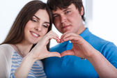 Valentine Couple — Foto de Stock