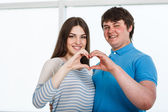 Valentine Couple — Stock Photo