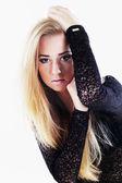 Portrait of beautiful female — Stock Photo