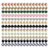 Set of pearls necklaces — Stock Photo