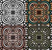 Conjunto de elementos ornamentales — Vector de stock
