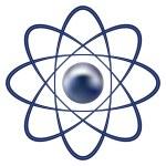 Atom part — Stock Vector #19186701