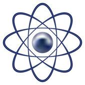 Atom-Teil — Stockvektor