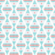 Geometric seamless pattern — Stock Vector