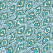 手描きのシームレスなパターン — ストックベクタ
