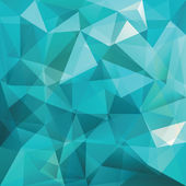 Abstract triangle background, vector — Vettoriale Stock