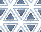 Hand drawn watercolor seamless pattern — Vettoriale Stock