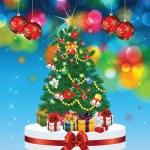 Christmas tree — Stock Vector #12494902