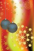 クリスマスの装飾 — Stock vektor