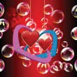 Royalty-Free Stock Vectorafbeeldingen: Valentine day illustration