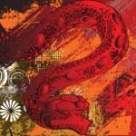 Snake attack — Stock Vector #14729555